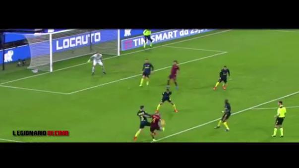 Roma se ubica segundo en la Serie A con 59 puntos.