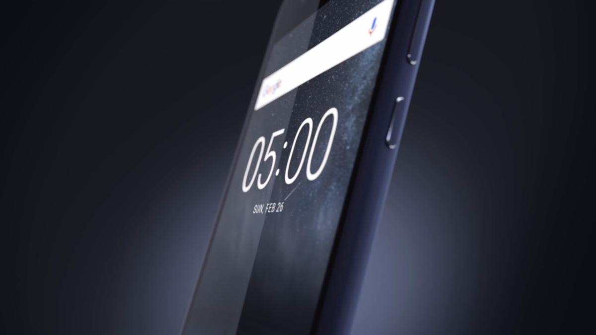 Comercial con las especificaciones del Nokia 5.