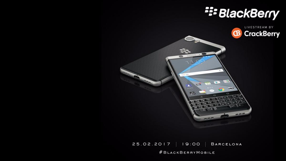 Teaser de la presentación de Blackberry en el MWC 2017.