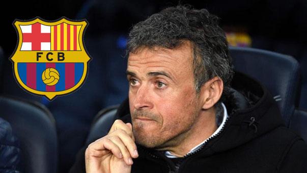 Luis Enrique le dirá adiós a Barcelona a fines de temporada.