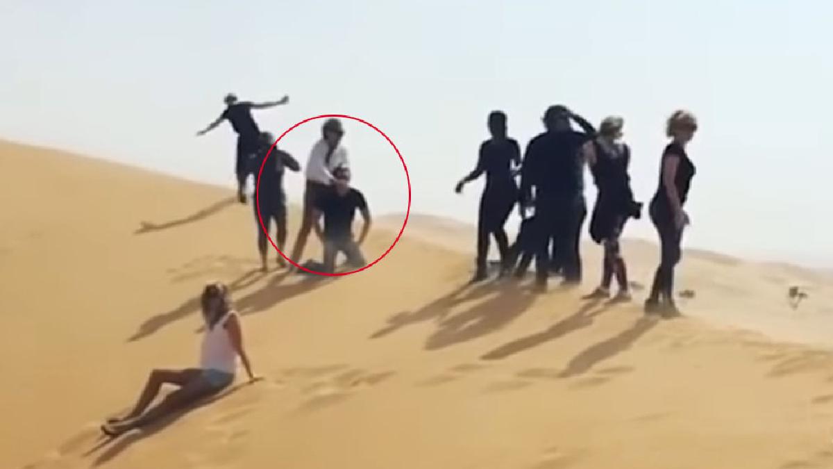 Una vez que el video se difundió y se viralizó en las redes, los insultos y críticas no pararon.