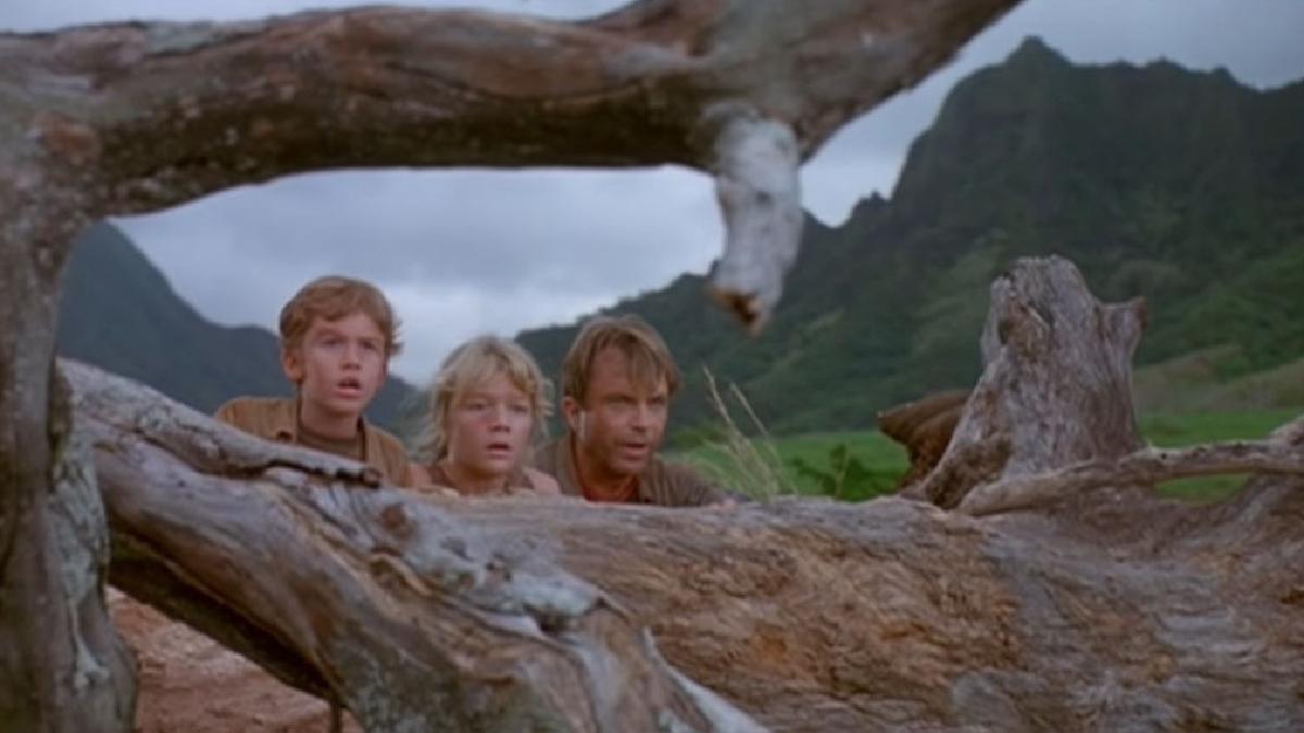 Apareció en Jurassic Park