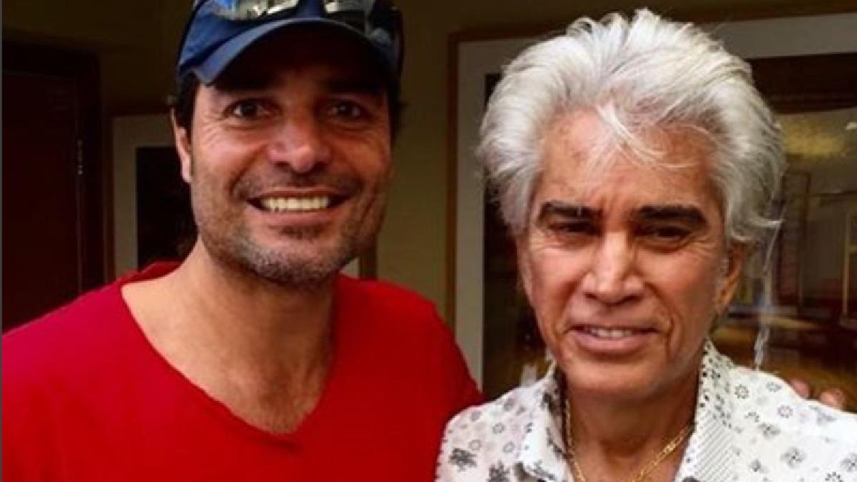 Chayanne y José Luis Rodríguez 'El Puma'