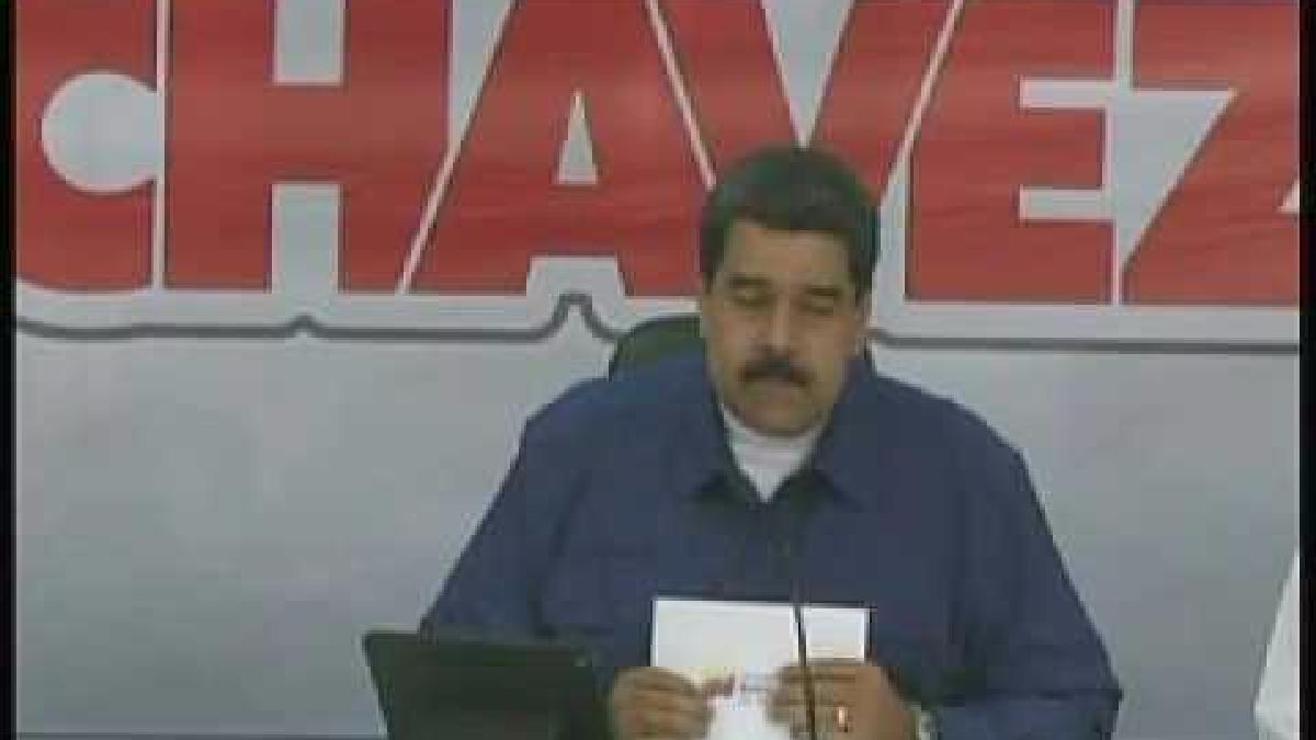 Maduro pidió al presidente Kuczynski que se rectifique.