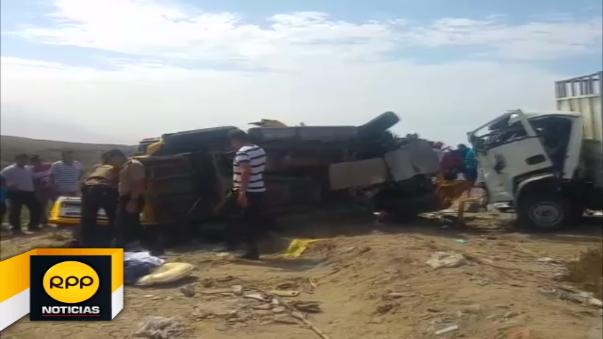 Vehículo causante del accidente se dio a la fuga. La policía ya realiza las investigaciones de hecho.