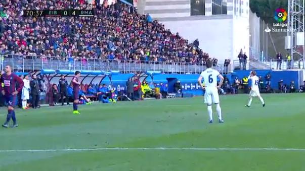 Luka Modric fue reemplazado por Mateo Kovacic.