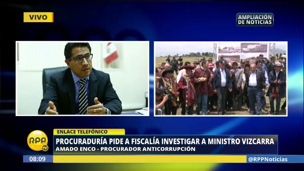 Amado Enco insistió en la falta de transparencia del documento firmado por el Ejecutivo.
