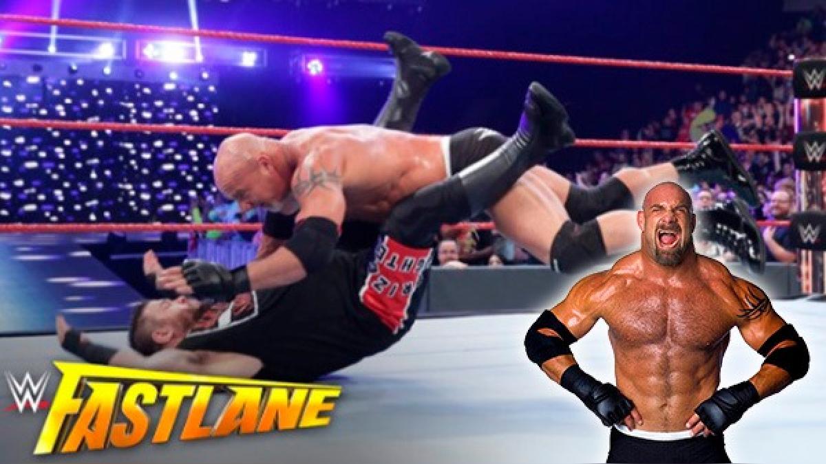 Goldberg es el nuevo monarca de la WWE.