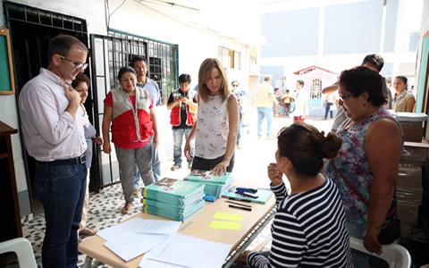 Son parte de los 186 locales educativos que forman parte del Plan Lima, en los que se invertirán 56 millones de soles, indicó Marilú Martens