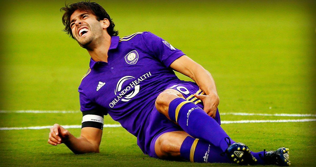 Kaká llegó a Orlando City en el 2015.