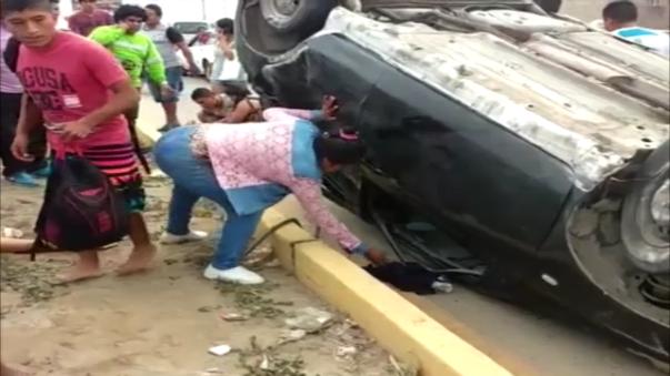 Suboficiales FAP heridas en accidente