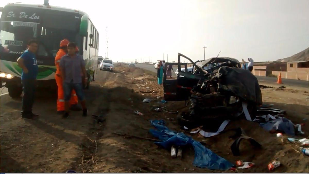 Tragedia ocurrió en la carretera Panamericana Norte.