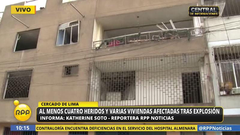 Aún no se conoce la causa de la explosión, agentes de la UDEX ya realizan las investigaciones.