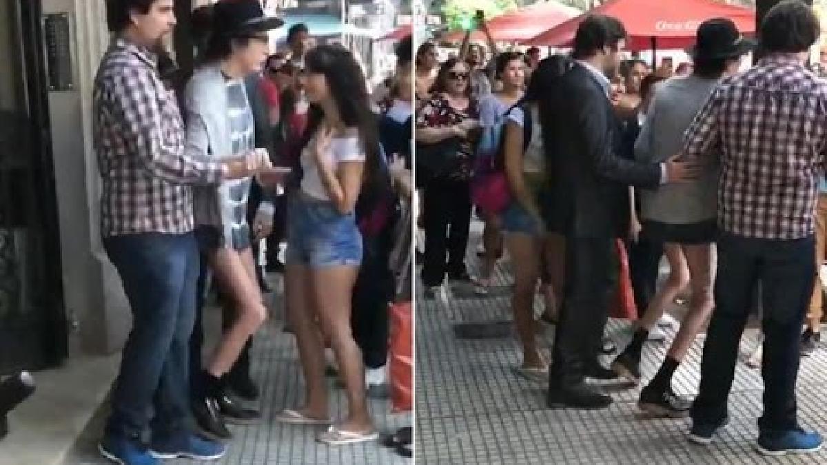 Charly García reaparece en público muy delgado.