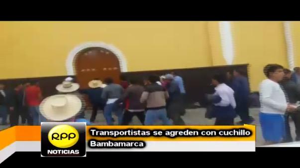 Transportistas buscaban el otorgamiento de permiso de circulación en la ruta Bambamarca - centro poblado Moran Lirio