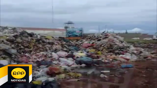 Cerca de cinco mil toneladas de basura se llevaron esa zona de la ciudad de Juliaca.