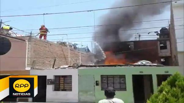 Una explosión alarmó a los vecinos de la urbanización San Antonio de Huaral, familia perdió enceres y hasta su perro.