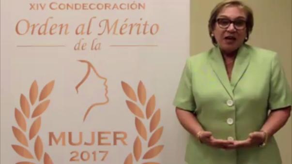 Ana María Romero pide paridad entre hombres y mujeres.