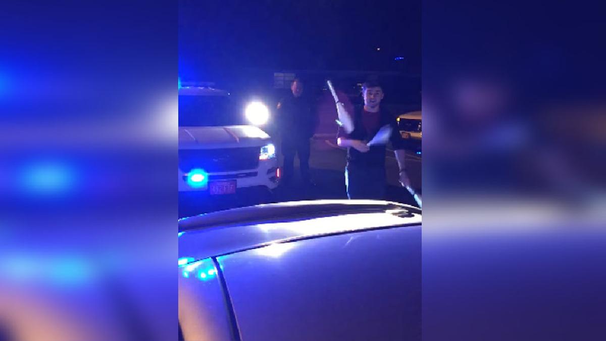 Este es el video que grabó uno de los oficiales con el celular de Blayk Puckett.