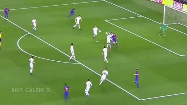 Neymar se puso el equipo al hombro en el tramo final del partido.