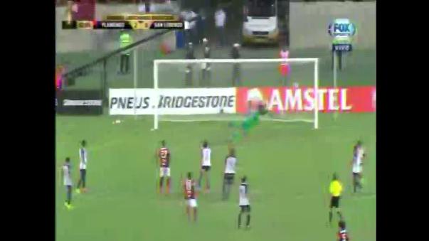 El gol del peruano llegó al minuto 62 del partido ante San Lorenzo.