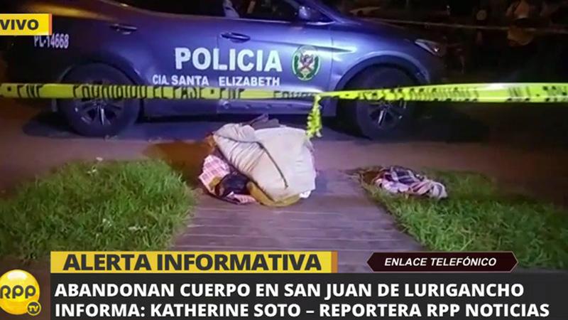 La Policía investiga el crimen.