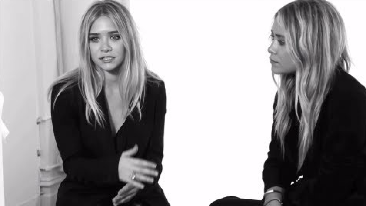 The Row with designers Mary Kate & Ashley Olsen