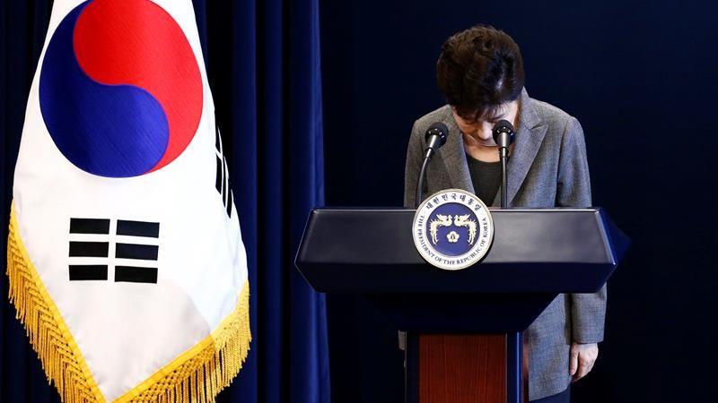 La presidenta será desposeída de todos sus poderes al frente del Estado. Tras las protestas por la destitución de Park, se produjeron disturbios que dejaron el saldo de dos muertos.