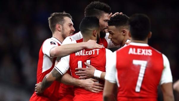 Revive aquí todos los goles del partido entre Arsenal y Lincoln City.