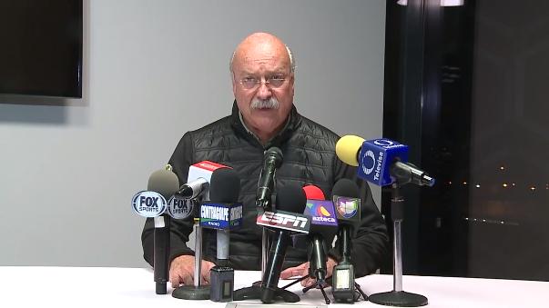 El presidente de la Liga MX confirmó la noticia.