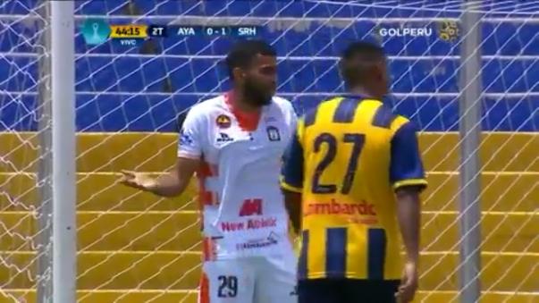 Salomón Libman salvó a Sport Rosario del empate a los 44 minutos del segundo tiempo.