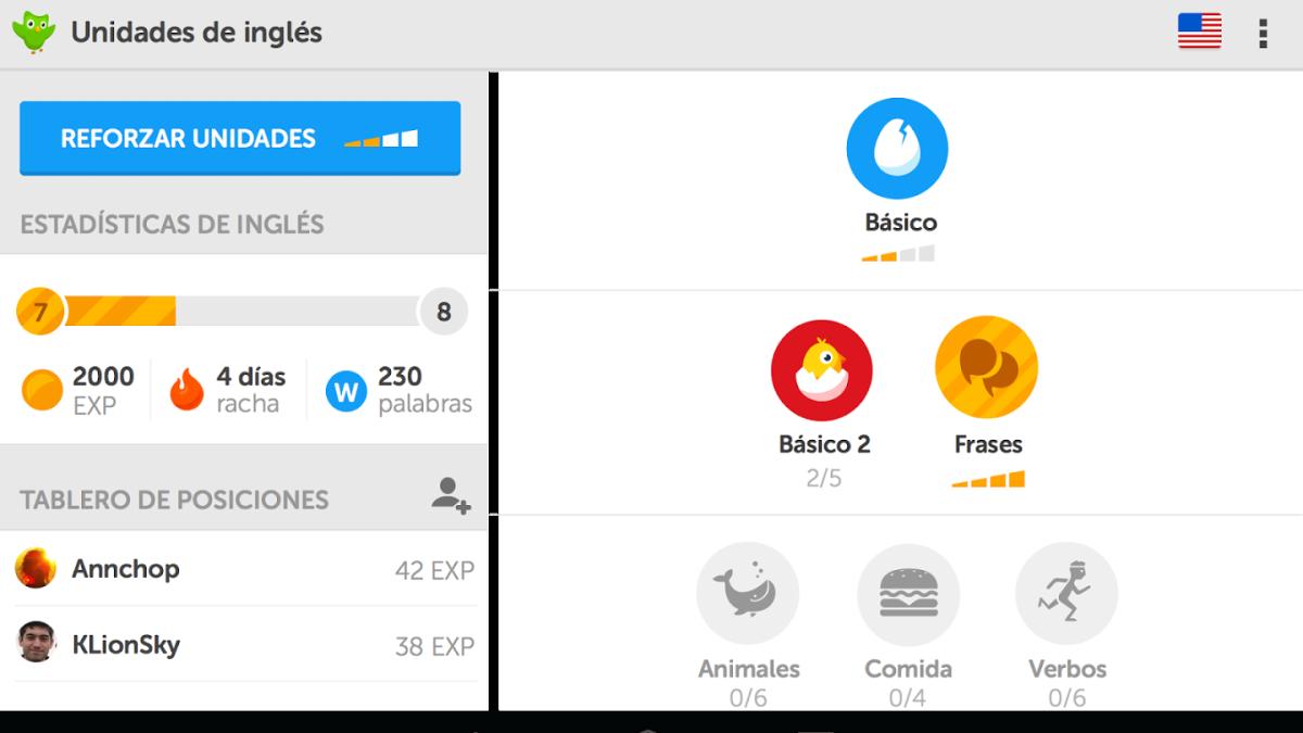 Aprende más sobre Duolingo.