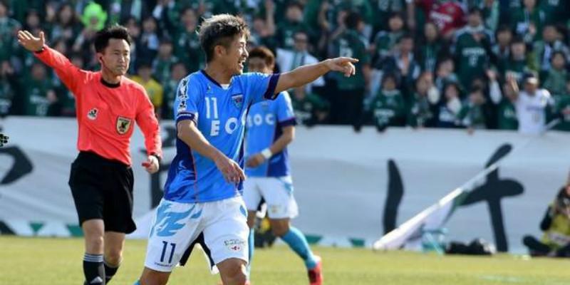 Kazuyoshi Miura juega en el Yokohama de la segunda división desde hace más de una década.