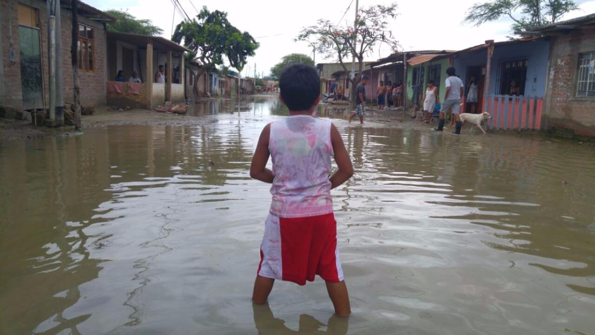 Piura es una de las regiones más afectadas del país a causa del Fenómeno El Niño.