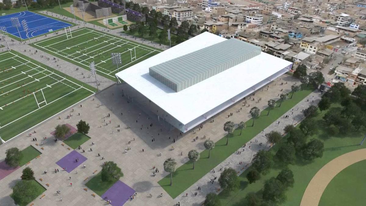 El Complejo Deportivo de Villa María del Triunfo funcionaría como sede para diversas disciplinas. Entre ellas, el rugby, el béisbol y el hockey.