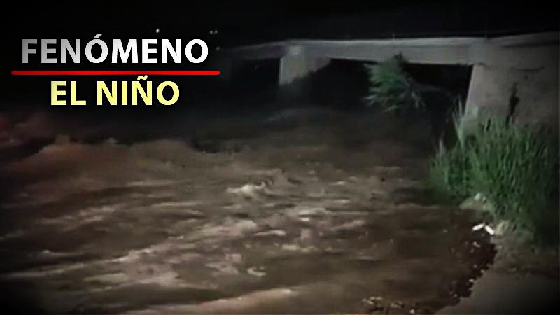 El río Lurín registró un aumento histórico de su caudal que alcanzó los 80 meros cúbicos por segundo.