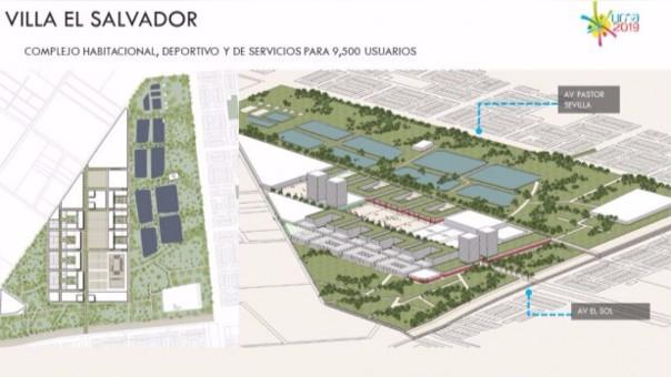 Esta será la Villa Deportiva en Villa El Salvador para los Panamericanos.