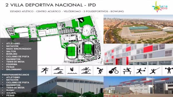 La Villa Deportiva Nacional acogerá diversos deportes y será la principal instalación durante los Juegos Panamericanos.
