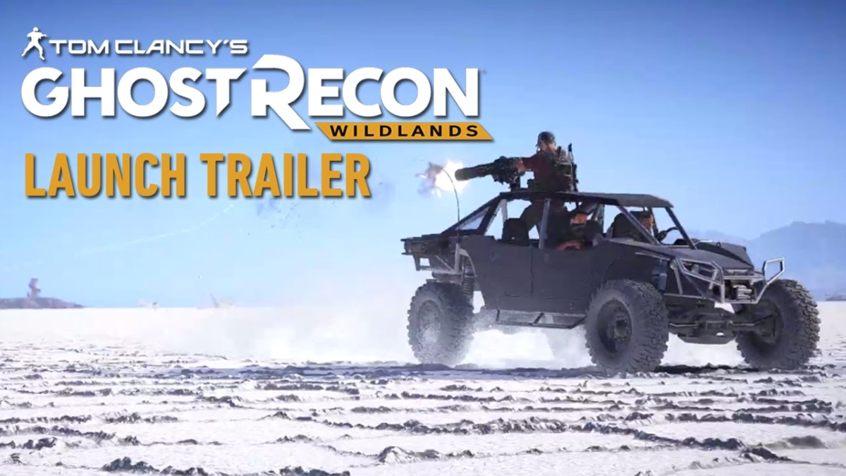 Ghost Recon Wildlands llegó al mercado el pasado 7 de marzo para PlayStation 4, Xbox One y PC.