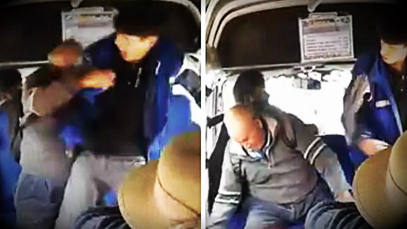 El cobrador no quiso devolverle 20 céntimos al anciano y en el forcejeo le golpeó en el rostro dos veces.