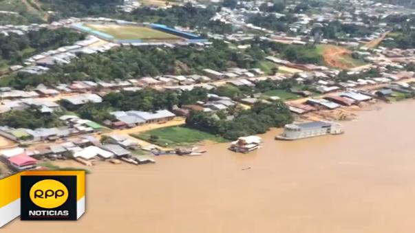 Ante la inundación de varios poblados de la Amazonía en Iquitos se realizará campaña de recojo de inservibles.