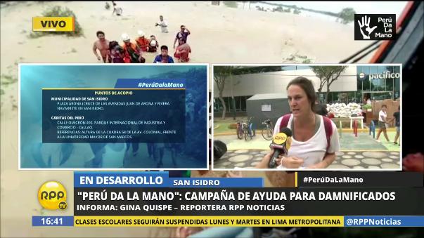 Perú Da La Mano llegó a recolectar 60 toneladas en tres días.