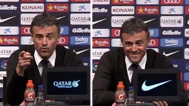Luis Enrique llegó a ser entrenador del Barcelona desde la temporada 2014-2015.
