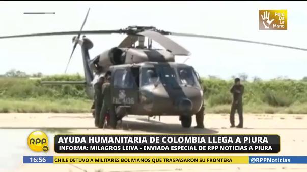 Colombia también ha enviado 30 toneladas de ayuda humanitaria para los damnificados.