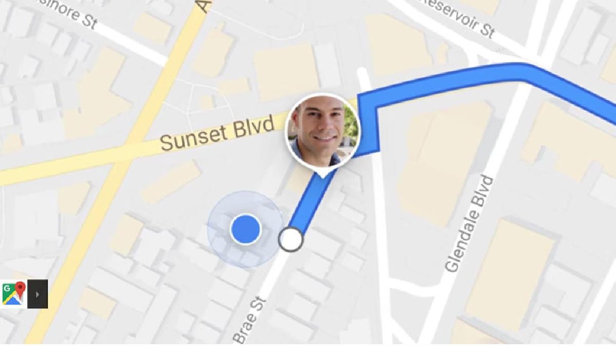 Google Maps revelará tu ubicación a amigos y familiares.