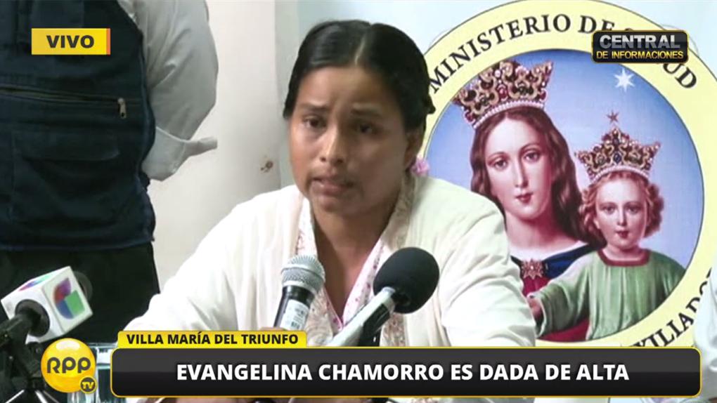 Evangelina Chamorro contó lo que vivió desde que fue arrastrada por el huaico hasta que se salvó.
