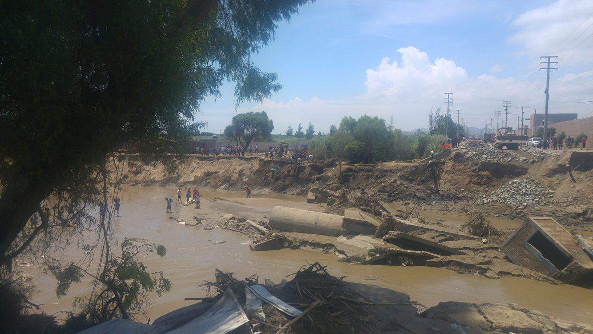 Los pobladores de Tamborreal Antiguo piden ayuda urgente.