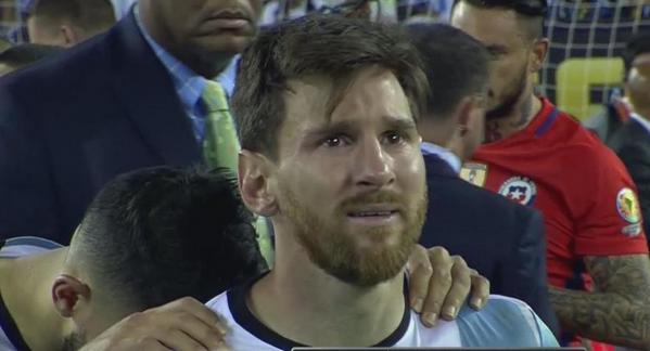 Lionel Messi ha perdido cuatro finales con Argentina. Dos de ellas fueron en la Copa América contra Chile.