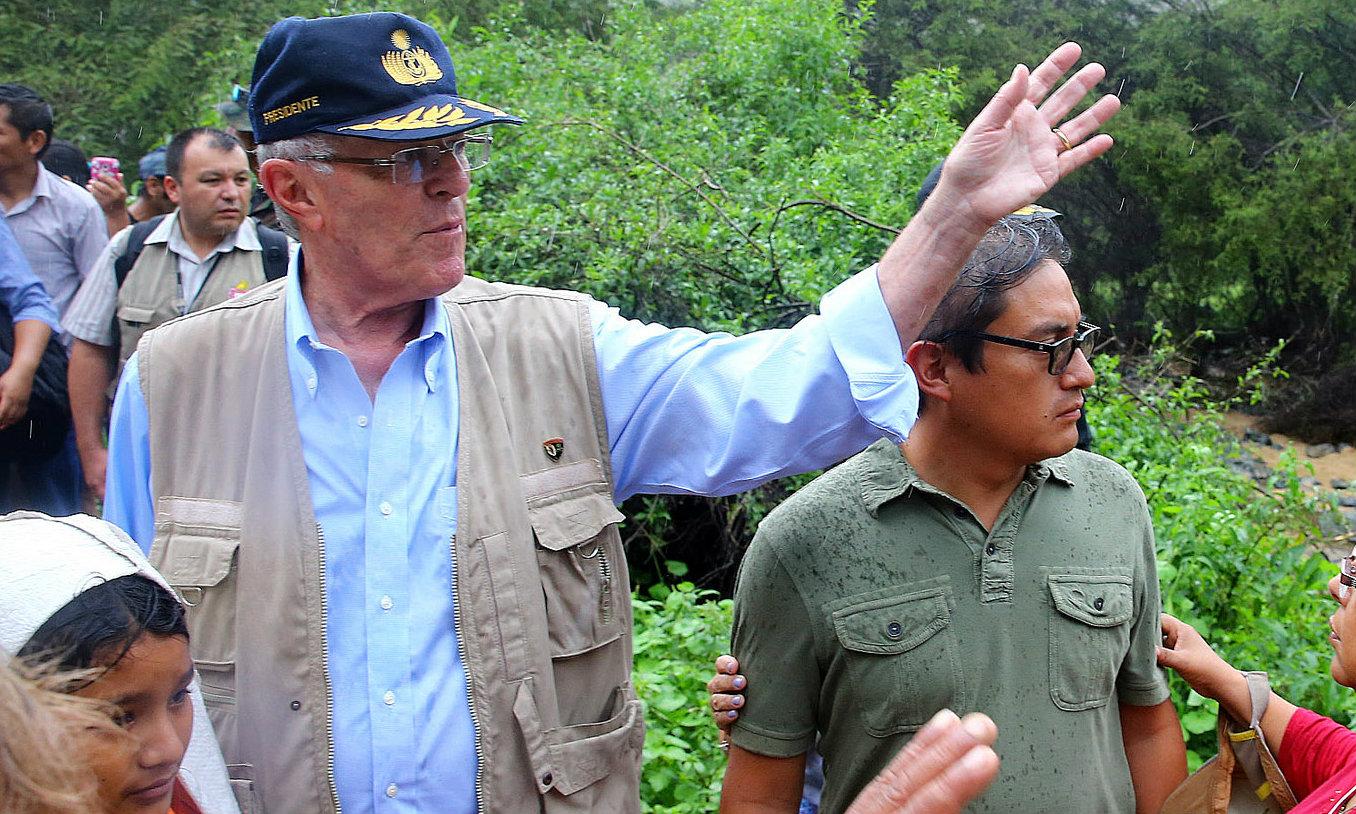 Merino dijo confiar en la capacidad de Kuczynski para la tarea de reconstruir el Perú.