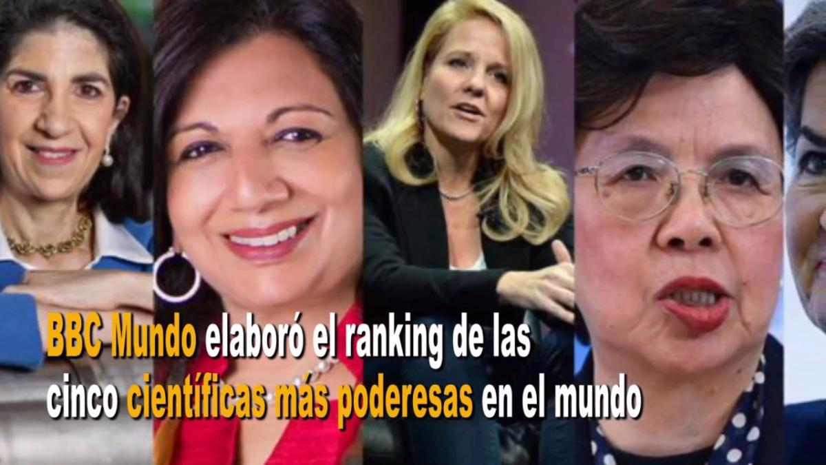 La costarricense Christiana Figueres forma parte de la la lista de las científicas poderosas.